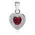 Rhodium plated \ Red