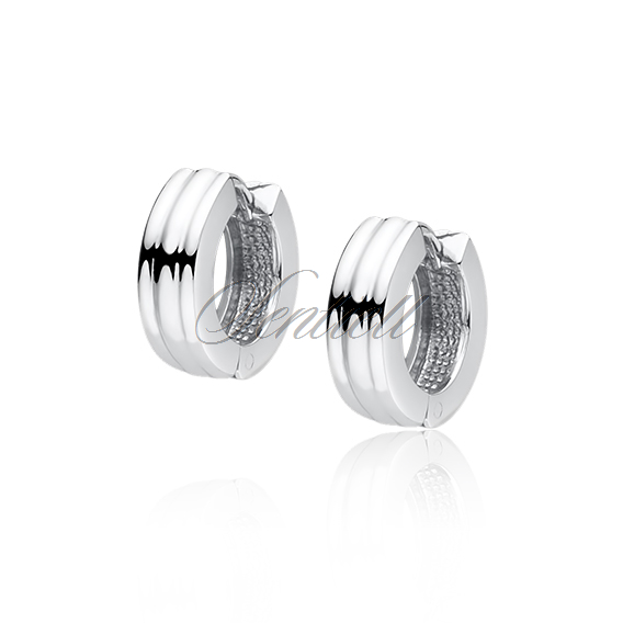 96a2622940e44a Srebrne kolczyki kółka - sklep jubilerski Sentiell Jewelry