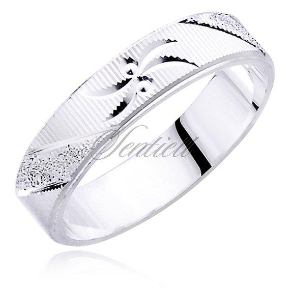73e73d03974688 Srebrna obrączka pr.925 - Biżuteria srebrna Pierścionki srebrne ...