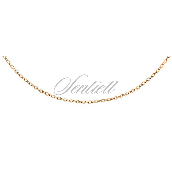 d021528294 Silver (925) Anchor chain, gold-plated Yellow gold-plated | Silver ...