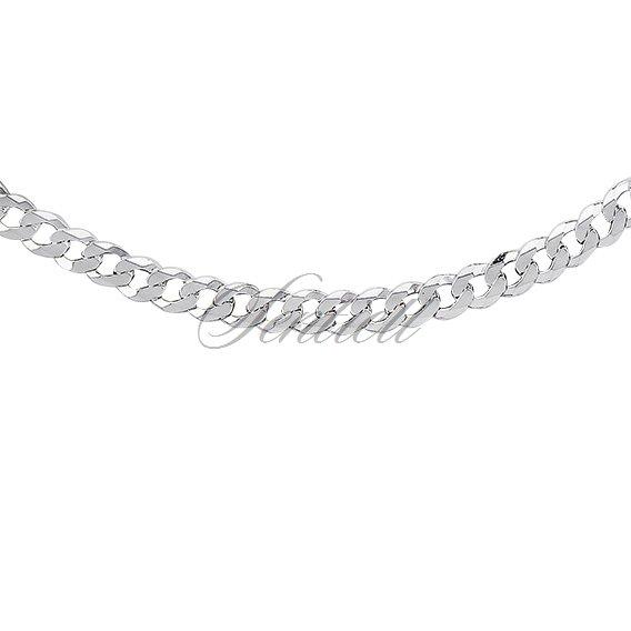 0fd5d5b1ff ... Silver (925) diamond-cut chain - curb extra flat Ø 0120 rhodium- ...