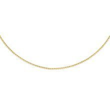 Silver (925) Spiga chain -  gold plated