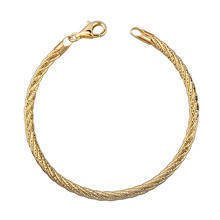 Silver (925) bracelet - gold plated