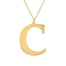 Yellow gold-plated \ C