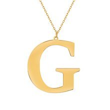 Yellow gold-plated \ G