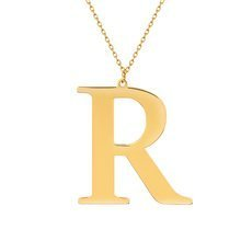 Yellow gold-plated \ R