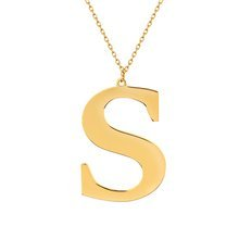 Yellow gold-plated \ S