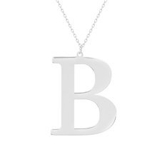 Rhodium-plated \ B