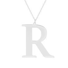 Rhodium-plated \ R