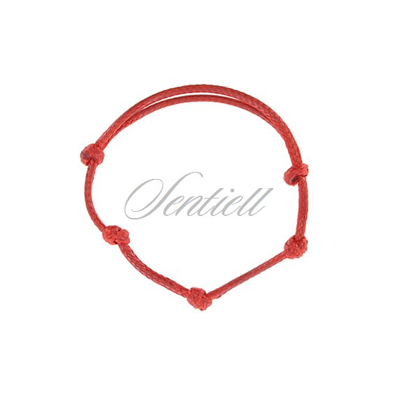 Base bracelet for flat charms - red polished