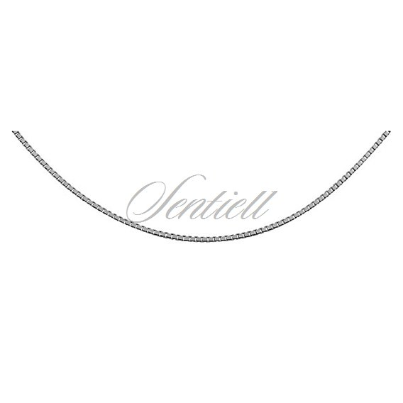 Silver (925) Venetian box chain  Ø 022, diamond-cut