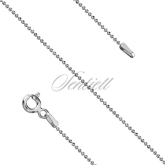 Silver (925) ball chain necklace