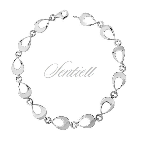 Silver (925) bracelet high polished