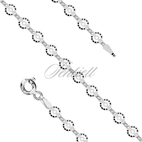 Silver (925) chain rhodium-plated