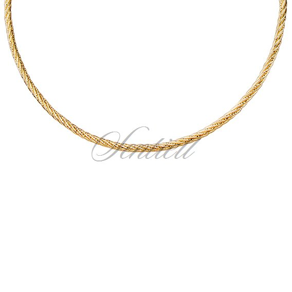 Silver (925) chain - gold plated