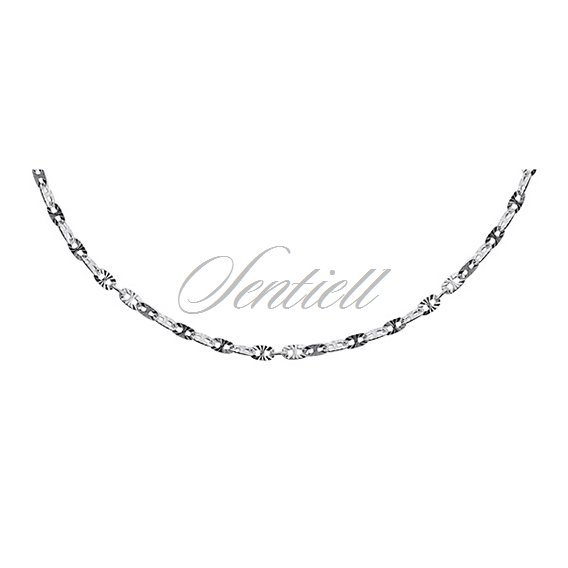 Silver (925) chain necklace Ø 035