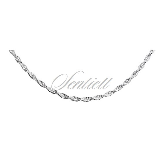 Silver (925) chain necklace  - triple anchor  Ø 040 weight from 5,2g