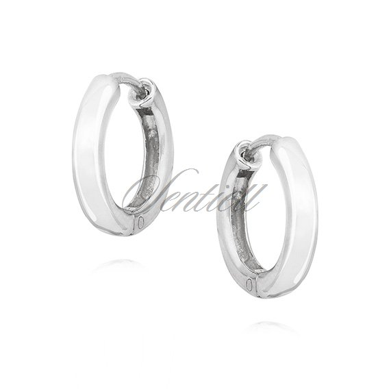 Silver (925) earrings hoops