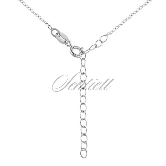 Silver (925) necklace - little feets