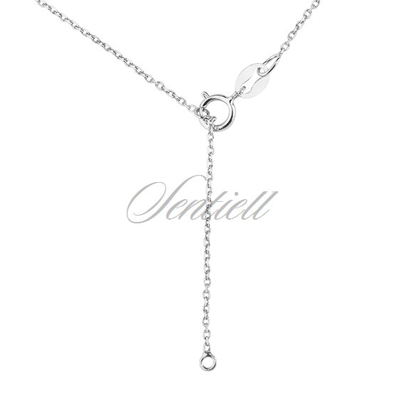 Silver (925) necklace with crown