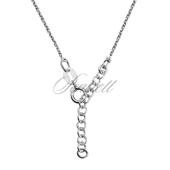 Silver (925) necklace with four round pendants