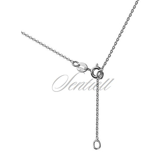 Silver (925) necklace with key