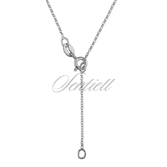 Silver (925) necklace with open-work circle
