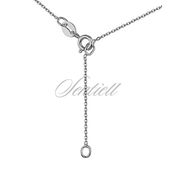 Silver (925) necklace with silver tube