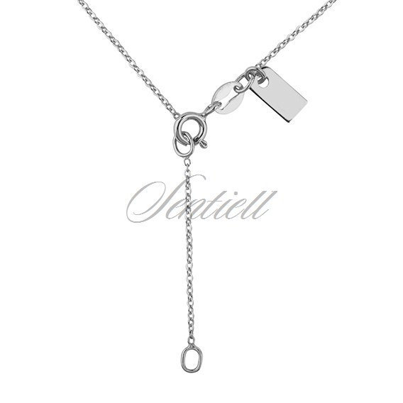 Silver (925) necklace withopen-work heart pendant